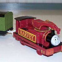 Harvey Trackmaster Engine thicker couplings