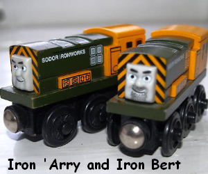 Iron A'rry with his brother Iron Bert
