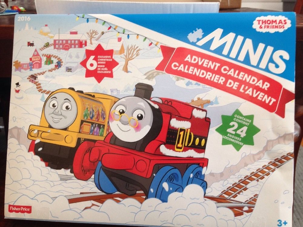 Thomas Minis Advent Calendar 2016