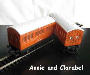 Annie and Clarabel are faithful coaches
