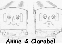 Print and color this Annie and Clarabel colouring page