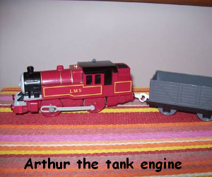 Arthur the tank engine