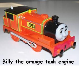 Bill the tank engine