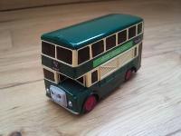 Bulgy the bus green