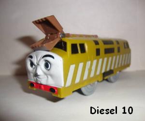 Diesel 10 the villainous diesel engine