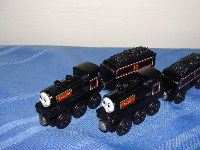 Donald and Douglas Scottish Twins wooden