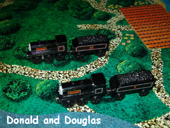 Donald and Douglas Scottish Twins