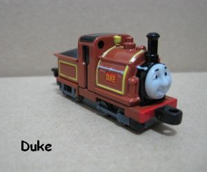 Duke is a narrow gauge engine