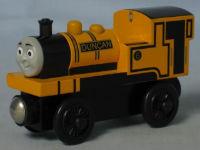 Duncan wooden train