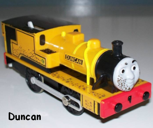 Duncan the narrow guage engine