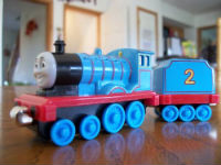 Wooden Take Along Edward with tender