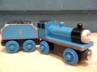 Wooden Edward with tender