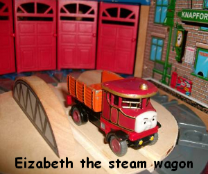 Elizabeth the steam lorry