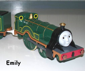 Emily the steam engine