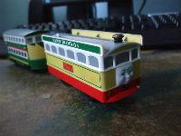Flora the tram trackmaster