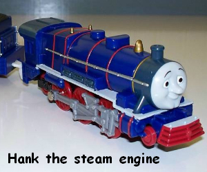 Hank the steam engine