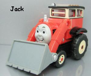 Jack the front loader