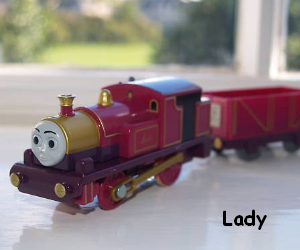 Lady is a tank engine