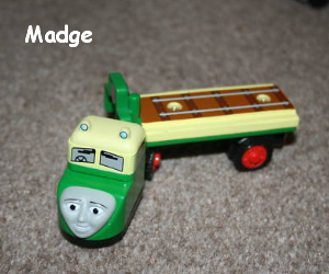 Madge is a snub nosed lorry wooden