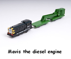 Mavis the diesel engine