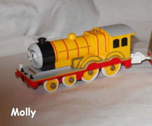 Molly the steam engine