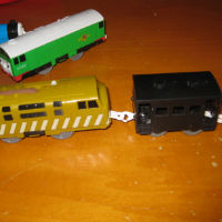 Repaired Tomy coach