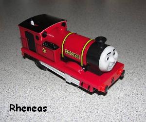 Rheneas the industrial tank engine