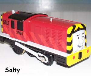 Salty the Dockside Diesel Engine