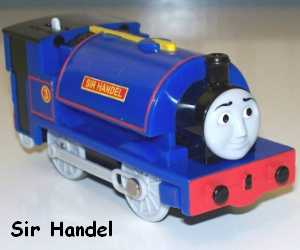 Sir Handel was once called Falcon