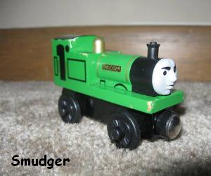Smudger the narrow guage engine