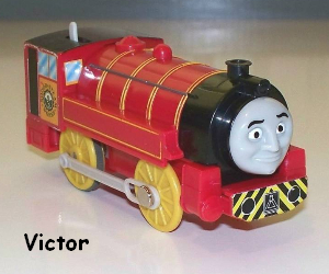 Victor the narrow gauge tank engine