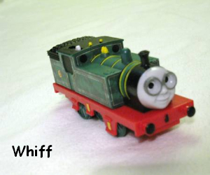 Whiff the little tank engine