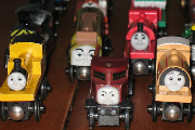 Collect Thomas Wooden Brio Trains